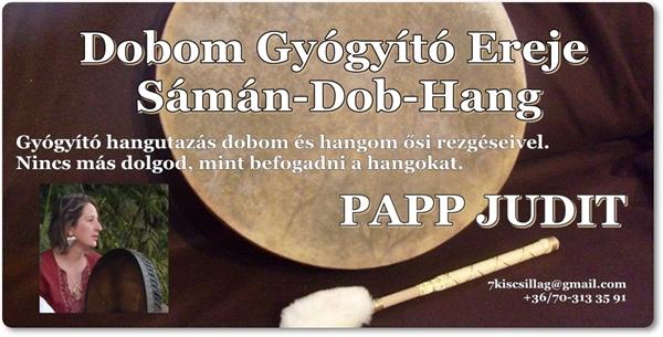 Örömünnep 2018 - Papp Judit: Dobom gyógyító ereje