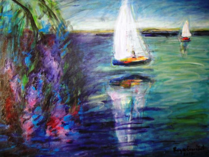 Örömünnep 2018 - Varga Erzsébet festőművész kiállítás megnyitója