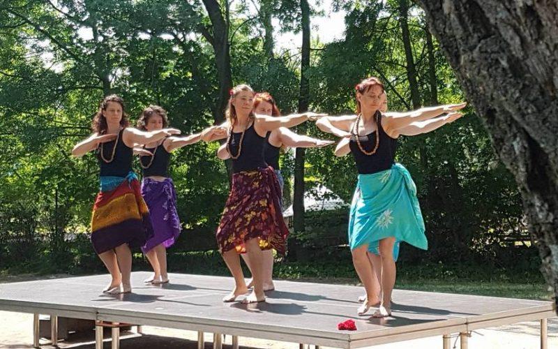 Aloha tánccsoport: Hawaii Hula tánc bemutatása és tanítása